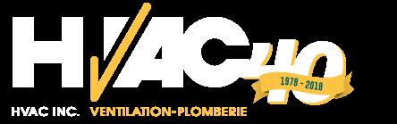 HVAC VENTILATION ET PLOMBERIE Logo